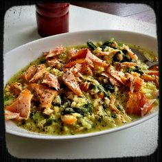 Dirk Reul - Google+ - ★ Buttery Wine Risotto with Smoked Salmon ★ Recipe…