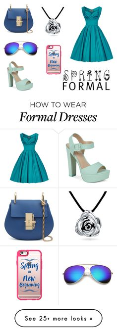 """""""Spring"""" by briannacarlyle on Polyvore featuring Call it SPRING, Bling Jewelry, Revo and Casetify"""