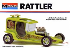 Monogram Rattler - modified by Monogram from the molds for the Horn Toad