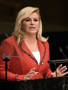 Croatian President Kolinda Grabar-Kitarovic said her country may have to build a fence to keep migrants from flooding in, a tactic already tried by Hungary, according to an article Wednesday in the Jutarnji List newspaper.Jane Onyanga-Omara, USA TODAY 10:35 a.m. EDT October 14, 2015 Building A Fence, October 14, Usa Today, Hungary, Work Outfits, Newspaper, My Style, Wednesday, Politics
