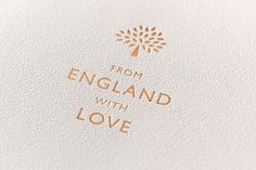 The cover for Angus Hyland's new booklet for British luxury brand Mulberry