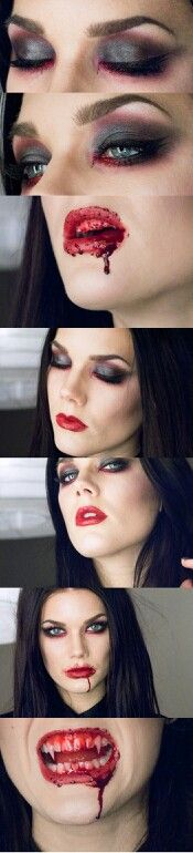 Linda hallberg #beauty #eye makeup #halloween