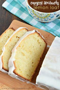 Copycat Starbucks Lemon Loaf recipe!
