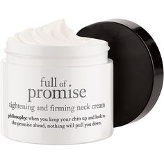 philosophy full of promise neck 2 oz (59 ml) (87 AUD) ❤ liked on Polyvore featuring beauty products, skincare, face care, beauty, fillers, makeup, philosophy skincare and philosophy skin care