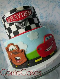 Cars cake by Corries Cakes