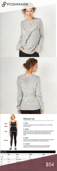 LULULEMON Cable Knit Sweater | Cable, Gray and Lululemon