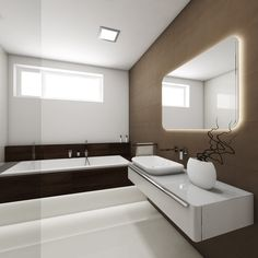 Modern bathroom COFFEE - visualization