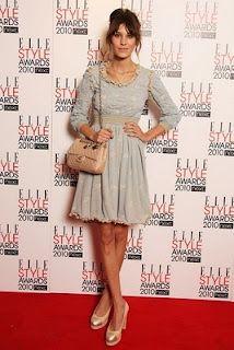 Alexa Chung in pastel  #fashion #charismatic #fashionista