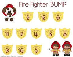 "Fire Fighter ""Bump"":  Addition to 12 (free; from GradeONEderful)"
