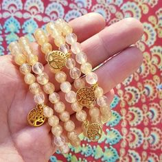 Golden Tree, Tree Of Life, Stretch Bracelets, Gemstone Jewelry, Sunshine, Mindfulness, Charmed, Gemstones, Beads