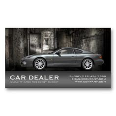 SOLD! This elegant automotive / car dealer business card template, makes a great business card for new and used car dealers, car detailers, #automotive repair shops, mechanics, car sales people, #car detailers and automotive service centers.