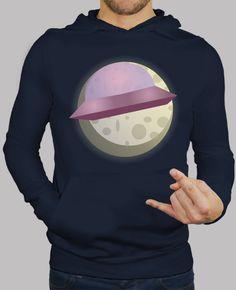 Sudadera ovni con luna
