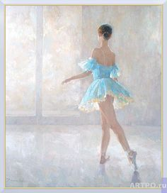 На репетиции | Волков Сергей | АРТПО: продажа картин | живопись, интернет магазин картин | купить картину | картины художников
