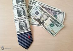 Discover thousands of images about I've seen money ties before but I like how this one has the money AND the tie. Birthday Diy, Birthday Gifts, Homemade Gifts, Diy Gifts, Pastor Appreciation Day, Money Bouquet, Creative Money Gifts, Graduation Leis, Dollar Bill Origami