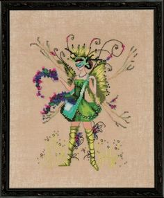 Nora Corbett The Berry Collector - Counted Cross Stitch Pattern - TheAngelsNook.com