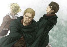 #reiner, #bertolt , #annie - Shingeki no Kyojin┋Атака Титанов┋Attack on Titan