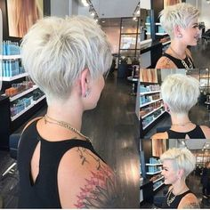35 Best Short Pixie Cuts to Refresh Your Look Today! - Short Pixie Cuts Best Short Pixie Haircuts to Refresh Your Look We will help you choose a haircut for long, medium and short hair. Remember that a good hairstyle can e. Thin Hair Cuts, Short Hair Cuts For Women, Short Hairstyles For Women, Short Hair Styles, Straight Hair, Haircut For Older Women, Haircut For Thick Hair, Pixie Cut Kurz, Pixie Cuts