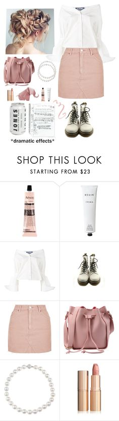 """Sans titre #18"" by maevamaeva ❤ liked on Polyvore featuring Franklin, Aesop, Rodin Olio Lusso, Jacquemus, Dr. Martens and Topshop"