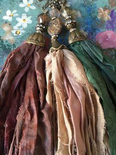 A personal favorite from my Etsy shop https://www.etsy.com/listing/252707112/boho-glam-sari-silk-tassel-jewelry