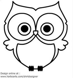 Free for personal use Owl Drawing Simple of your choice Cartoon Owl Drawing, Cute Owl Drawing, Cute Owl Cartoon, Simple Owl Drawing, Simple Owl Tattoo, Owl Clip Art, Owl Art, Owl Outline, Owl Vector