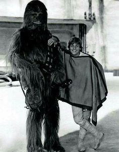 Chewie and Luke. :) So cute!