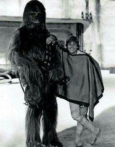 Chewie and Luke. :) So cute!