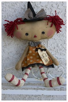 Dolls- raggedy ann type