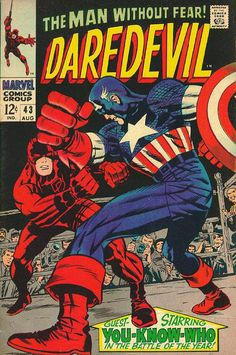 Daredevil # 43 by Jack Kirby & Joe Sinnott