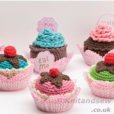 DMC Amigurumis Cupcakes Kit DMC Amigurumis Cupcakes Kit From Knitandsew.co.uk Your number one on-line knitting, sewing and haberdashery shop