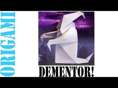 How to Make an Origami Harry Potter Dementor!: In this tutorial, I will show you how to make an origami harry potter dementor! Enjoy and Have fun :D! Origami: Dementor Designed By: JA Voyer Made By: Suhas Sunder Harry Potter Dementors, Harry Potter Hogwarts, Olaf Craft, Farmhouse Bathroom Art, Pet Water Fountain, Origami Design, Origami Paper, Etsy Store, Crafts
