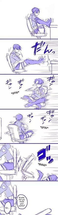 Shingeki no Kyojin. Don't watch it, but this is pretty funny.