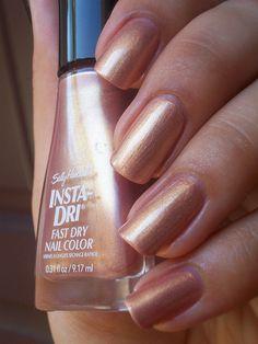 how to make my nail polish dry faster