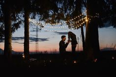 Grow old along with me! !  #engagement #proposal #couple #love #is #in #the #air #lights #string #outside #beautiful #place #romania #forever #together #she #said #yes #awesome #place #summer #2015 #nice