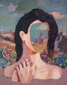 Kai Fine Art is an art website, shows painting and illustration works all over the world. Art Inspo, Painting Inspiration, L'art Du Portrait, Art Et Illustration, Art Hoe, Psychedelic Art, Art Design, Surreal Art, Aesthetic Art