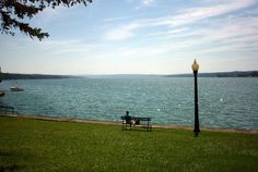 Skaneateles. The lake is our most prized possession. One of the cleanest lakes in the world, the citizens of Skaneateles take extra care in making sure the lake stays absolutely pristine. This includes not feeding the duck, cleaning out nearby streams, and advising swimmers to not *ahem* relieve themselves in the water.