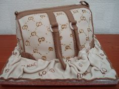 Designer bag celebration birthday cake