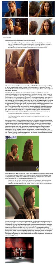 Obi Wan Talks to Padme deleted scene THIS SHOULD HAVE BEEN IN THE MOVIE