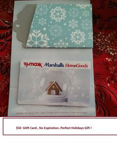 TJ MAXX, MARSHALLS, HOMEGOODS GIFT CARD $80, No Exp, Free Ship ...