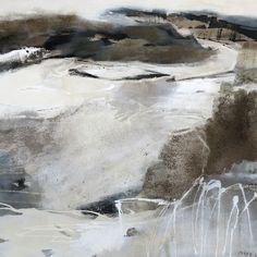 6 - Grauzone - Acryl-Mischtechnik auf Leinwand - 1,00 m x 1.00 m