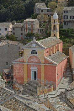 Corsica - Capicorsu - Cap Corse -  Nonza est une commune de 8 km² sur la côte occidentale du Cap Corse, (Haute-Corse) l'une des dix-huit communes regroupées dans la communauté de communes du Cap Corse. Nonza est entourée d'Ogliastro au nord, d'Olcani à l'est et d'Olmeta-du-Cap au sud.