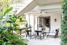sticks & stones - Bellevue Hill Outdoor Spaces, Indoor Outdoor, Outdoor Decor, Contemporary Architecture, Interior Architecture, Sydney Gardens, Australian Garden, Sticks And Stones, White Gardens