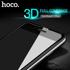 HOCO for iPhone 7 / 7 PLUS Nano tempered glass protector protective glass full cover for touch screen protection film iPhone7+