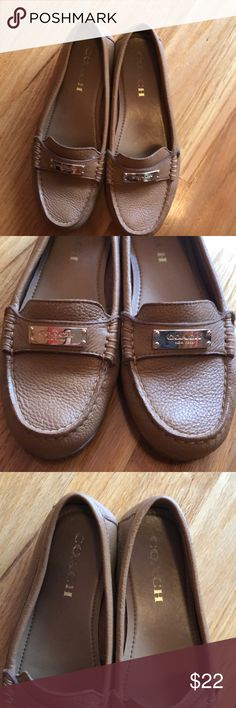 Coach Loafers Coach Loafers in excellent condition. Worn maybe four times. Coach Shoes Flats & Loafers