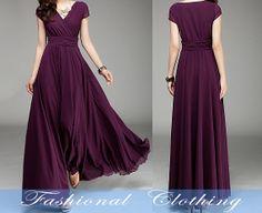 black green purple dress spring dress autumn by FashionalClothing, $89.00
