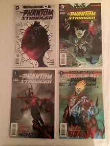 4 D.C. Comic Magazines New 52! Phantom Stranger Rated Teen 2012-2013