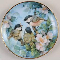 Franklin MintCarolyn Shores Wright Birds: Treetop Harmony