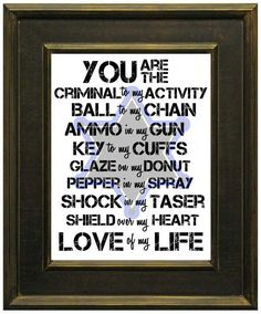Police+Love+Subway+Art+Printable+INSTANT+DOWNLOAD+by+BayouBowsLA,+$5.00