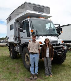 Chris Cole, President of Campa USA, envisioned a flatbed Unimog U500NA with a Phoenix Custom Camper, and spent two years making a Unimog truck camper.