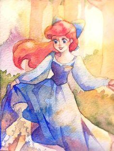 The Little Mermaid ~ Ariel Disney Pixar, Disney Magic, Disney Films, Disney Fan Art, Disney Dream, Disney And Dreamworks, Disney Love, Disney Characters, Disney Princesses And Princes