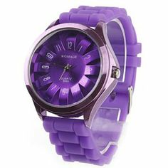 Tanboo Unisex Chrysanthemum Style Quartz Wrist Watch (Purple) by Tanboo Watchs. $8.99. Sports Fan Watch. Stylish design. Chrysanthemum style wrist watch. Water resistant. Adjustable silicone strap. Gender:Women's, Men'sMovement:QuartzDisplay:AnalogStyle:Wrist WatchesType:Fashionable Watches, Casual WatchesFeature:Water ResistantBand Material:SiliconeBand Color:PurpleCase Diameter Approx (cm):4.8 x 4.0Case Thickness Approx (cm):1.1Band Length Approx (cm):24Band Width Approx (cm):1.9